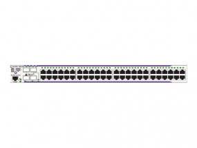 OS6850E-48X Gigabit Ethernet L3 fixed configuration chassis in a 1U form factor with 46 RJ-45 10/100
