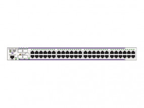 OS6850E-P48X Gigabit Ethernet L3 fixed configuration chassis in a 1U form factor with 46 RJ-45 10/10