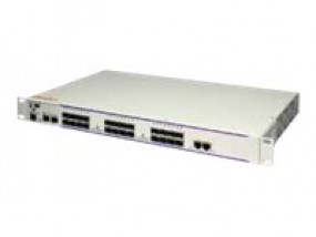 OS6850E-U24X Gigabit Ethernet L3 fixed configuration chassis in a 1U form factor with 22 SFP GigE po