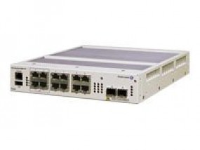 ALE OS6855-14-EU OS6855-14 Hardened Gigabit Ethernet L3 1RU fixed configuration fanless chassis desi